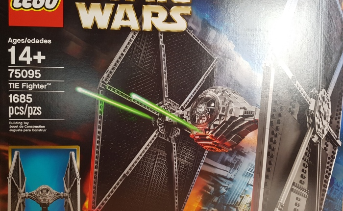Toy Review – Lego UCS Tie Fighter – #75095