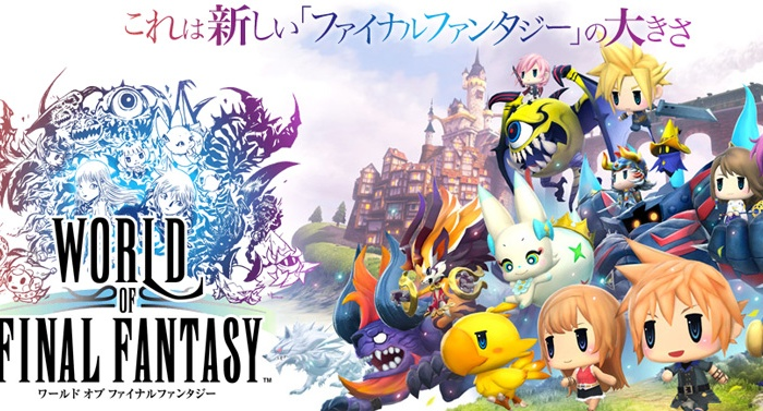 Review – World of Final Fantasy – Cloud-y with a chance of Squalls…