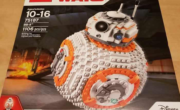 Lego Review – 78187 – UCS BB-8