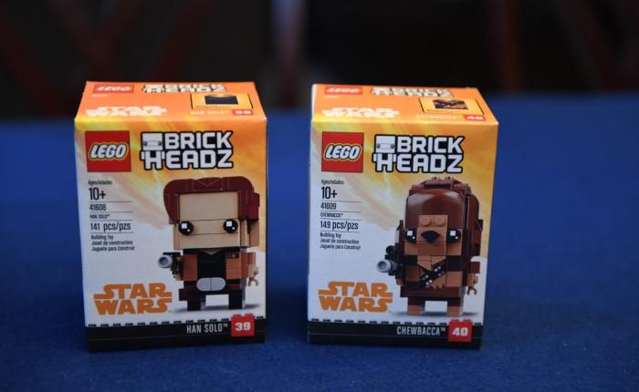 Lego Review – Brickheadz Han Solo andChewbacca