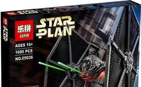 Block-Off Review – UCS Tie Fighter