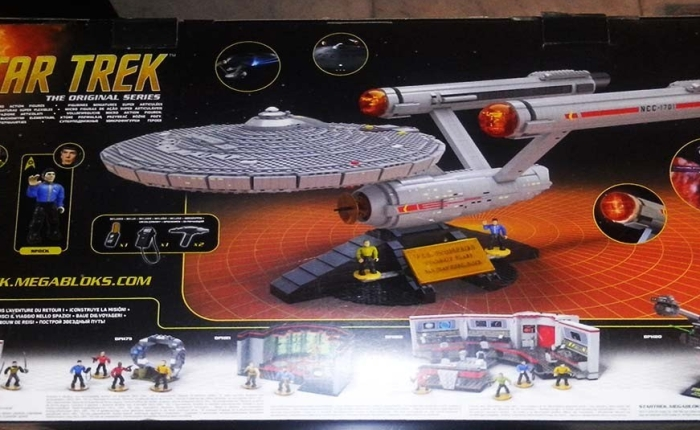 Mega Bloks Review – U.S.S Enterprise NCC-1701